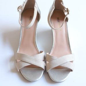 Sole Society Strappy Wedge Sandals